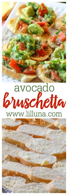 Guacamole Bruschetta