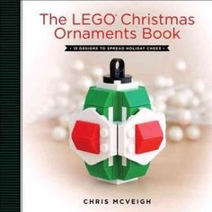 This Christmas, LEGO is moving from under the tree to on the tree! With The LEGO Christmas Ornaments Book as your guide, youAAAaAAaAll make classic globe and barrel ornaments, all out of LEGO, as well