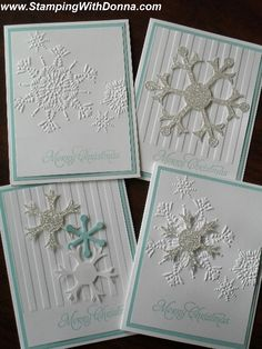 Pool Party Snowflake Christmas Cards