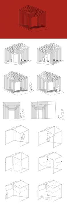 Le Cube Gigogne_Mobilier urbain modulable_Saint-Etienne Mars 2015