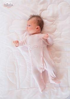 Bawełniany, antyalergiczny pajac dla dzieci Leniuszek :)   #sofija #bawełna #antyalergiczne #ubranka #dziecko #kids #baby #kidsfashion #kinder #kindermode #ребенок #мода #enfant #mode #producer
