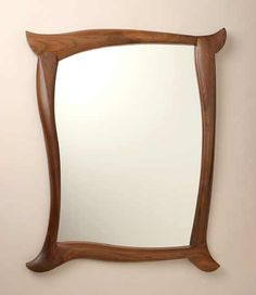 Mirror: Seth Rolland: Wood Mirror - Artful Home