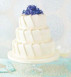 Ruffle Sponge Wedding Cake-Marks & Spencer