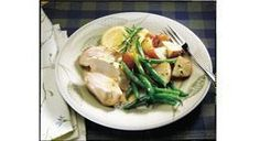 Roasted Herbed Chicken with Lemon