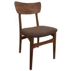 Brodie - Wooden Chair fabric Seat