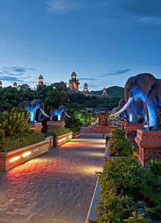 The Palace of the Lost City Hotel, Sun City Resort Sun City South Africa, South Africa Holidays, Durban South Africa, Sun City Hotel, Sun City Resort, Places To Travel, Places To See, Travel Around The World, Around The Worlds