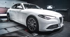 BR-Performance Boosts Alfa Romeo Giulia 2.2 JTDM To 232 PS