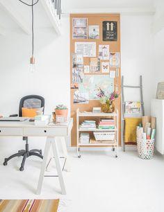 Detalhes bacanas no home office