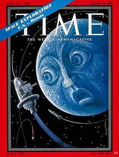 Space Story, Time Magazine, Magazine Covers, Space Illustration, Space Race, The Far Side, Space Program, Ad Art, Space Exploration