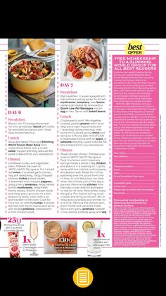 Slimming world meal ideas