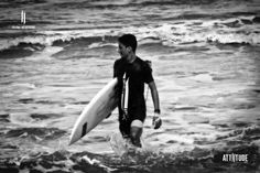 Let's do some surfing!!  #my_attiitude #surfing #ocean