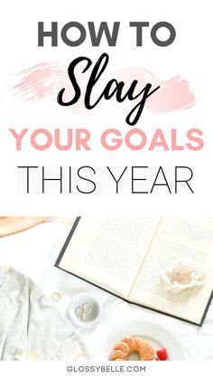 To Slay Your Goals This Year The new year is a totally fresh start to the year. In this post, I give my tips on how to successfully set goals and plan your year. Learn how to finally achieve success and make your dreams a reality! Routine Planner, Goals Planner, Time Management Planner, How To Start A Blog, How To Make Money, Setting Goals, Goal Settings, Goal Setting Worksheet, New Year Goals