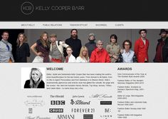 Kelly Cooper Barr website design by Adeo Group  #webdesign #fashion #style  http://www.kellycooperbarr.com/