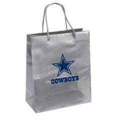 Dallas Cowboys Gift Bag - Elegant Foil