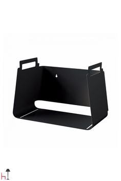 A piece of paper with simple folds becomes a container but also a shelf.
