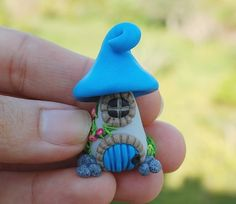 Fairy House Handmade polymer by SweetFriendsES on Etsy