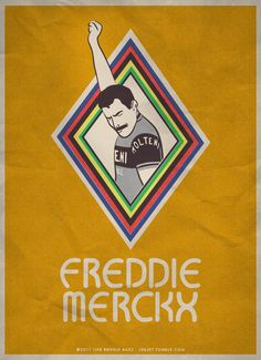 Freddie Merckx /by lbbjkt #tumblr #illustration #cycling
