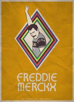Freddie Merckx /by lbbjkt #tumblr #illustration #cycling