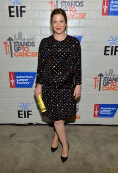 Drew Barrymore - Stars at the Hollywood Stands Up to Cancer Event