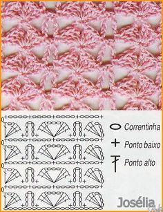 pontos de croche com graficos - Pesquisa Google