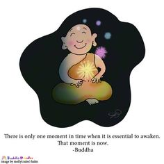 Buddha Doodle - 'That Moment is Now'