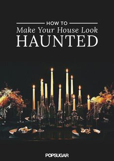 Scare your guests with your elegant Halloween decorations from this guide