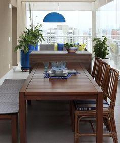 Mesas de madeira: 60 modelos para deixar a sua casa CHARMOSA
