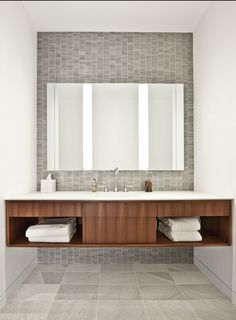 #interior #decor #styling #bathroom #grey #tiles #minimalism