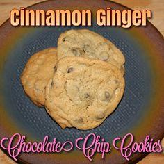 EmilyCanBake: Cinnamon Ginger Chocolate Chip Cookies