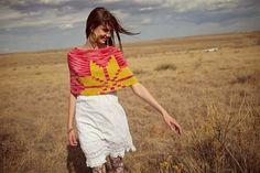 Icelandic Star Knit Cowl Pattern   InterweaveStore.com