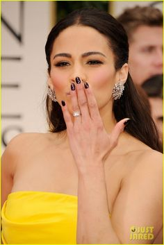 Paula Patton #nails