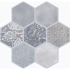 Buy the Emser Tile Virtue Beige Direct. Shop for the Emser Tile Virtue Beige Vice & Virtue - x Square Wall & Floor Tile - Unpolished Porcelain Visual - Sold by Carton SF/Carton) and save. Best Floor Tiles, Black And White Tiles, Hexagon Tiles, Hexagon Shape, Bathroom Flooring, Kitchen Flooring, Tile Patterns, Home Improvement Projects, Wall Tiles