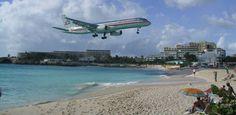 Sunset Beach Bar in St Maarten - airplane thrill seekers paradise! airplan rock, airport beach, beach bars, sunset beach