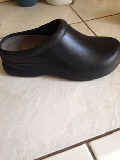 Orthaheel Sasha Ii Chocolate/blue Mary Jane Clogs--size 7m Men's Clothing