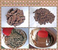 PANELATERAPIA - Blog de Culinária, Gastronomia e Receitas: Temperagem do Chocolate
