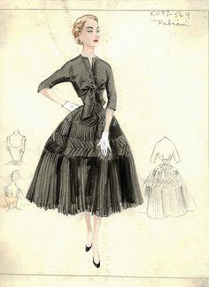 Fabiani Dress by FIT Library Department of Special Collections, via Flickr