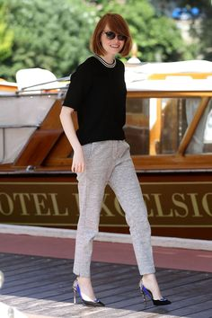 Emma Stone fashion