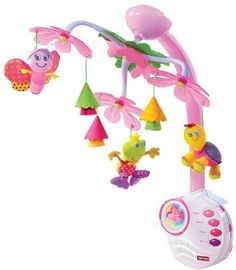 Tiny Love Tiny Princess Mobile by Tiny Love. $79.25. Amazon.com                With multidimensional movement and tranquil music, the TINY LOVE Tiny Princess Mobile entertains your baby and encourages important developmental skills. The adorable pink mobile features bright, hanging animals to delight and mesmerize your baby. A music box with a remote control offers continuous sounds for a soothing experience that engages the imagination.             Tiny Princ...