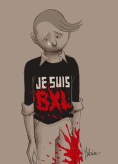 Coco, survivante de Charlie Hebdo, dessine pour Bruxelles | Belgique - lesoir.be