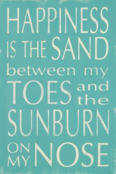 Happiness is the Sand Prints by Holly Stadler at AllPosters.com