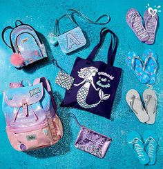 All the sparkly extras every mermaid needs.