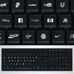 Brand keyboard by the designer Ignacio Pilotto.