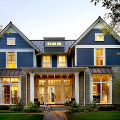 Modern Farm House - farmhouse - Exterior - Chicago - Charles Vincent George Architects, Inc.
