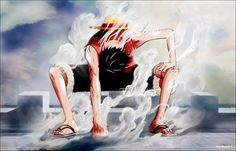 Luffy, Gear second
