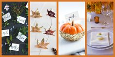 These Cute Thanksgiving Place Cards Will Make Guests Feel Right at Home