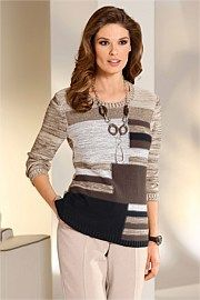 Capture European Multi Sweater- Jumpers like this are a great winter option to wear to class as well. This can be done in styles with heavier knits like cable knits.