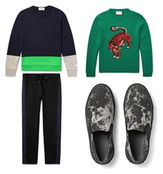 """""""Gate"""" by karlwalter on Polyvore featuring COS, Gucci, men's fashion and menswear"""