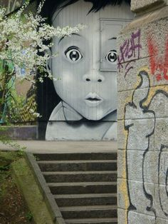Freiburg between Dublin and London: World Street Art