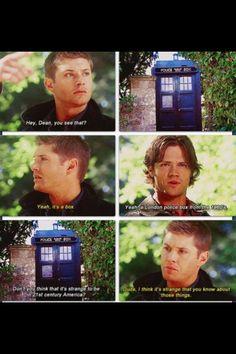 Supernatural / Doctor Who