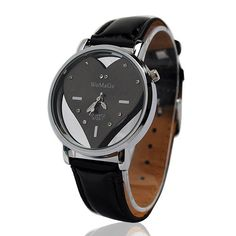 The product is a fashion leather watch for ladies, it is fashion and elegant, unique heart shaped dial with rhinestone looks very beautiful Product Description    Leather band Steel case Heart shaped dial with rhinestone Fashion and elegant Product size: L 22 cm X W 3.7 cm Quartz movemen...